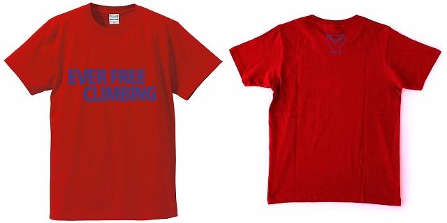 Tシャツ レッド